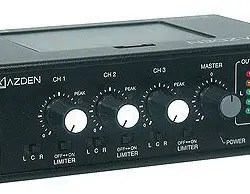 Azden FMX-32a 3 Channel Portable Microphone Mixer