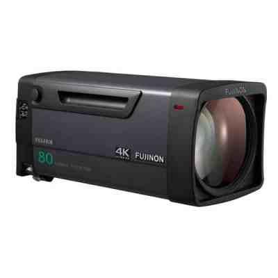 Fujinon UA80x9 BESM 1.2x EXT 4K Plus Premier High-Power Zoom Lens