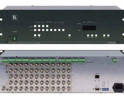 Kramer VP-84ETH 8x4 RGBHV/Balanced Audio Matrix Switcher