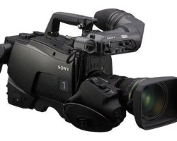 Sony HDC-2500 HD Multi-Format Camera Fiber, 3G