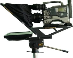 Video Solutions VSS-19M Teleprompter designed for ENG Cameras