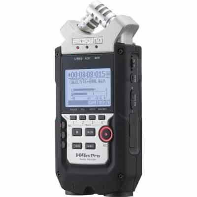 Zoom H4n Pro Handy Recorder for onboard X/Y microphones