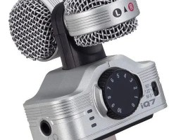 Zoom iQ7 Mid-Side Stereo Recording for iOS Devices with Lightning Port