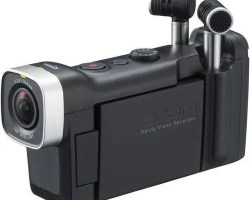 Zoom Q4n Handy Video Camera with High-quality 160° wide-angle lens