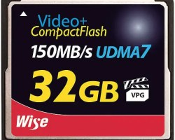Wise CF-11320 CompactFlash® Memory Card