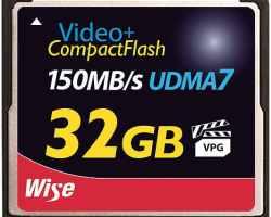 Wise CF-11320 CompactFlash® Memory Card