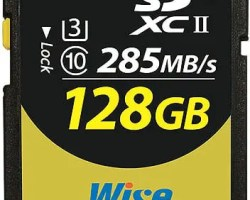 Wise SD2-128U3 128GB SDXC™ UHS-II Memory Card