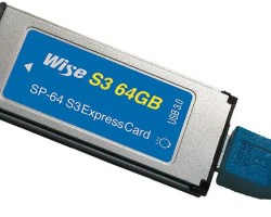 Wise 64GB S3 ExpressCard