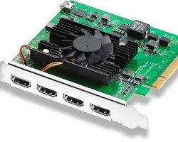 Blackmagic Decklink Quad HDMI Capture Card