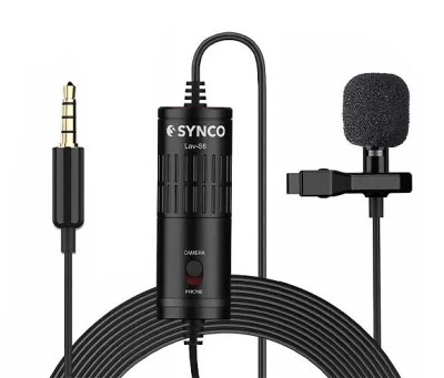 SYNCO Lav-S6 Omnidirectional Microphone