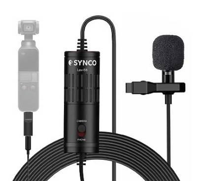 SYNCO Lav-S6P Lapel Microphone