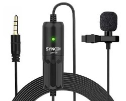 SYNCO Lav-S8 Clip-On Microphone
