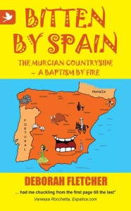 Book Cover: Bitten by Spain