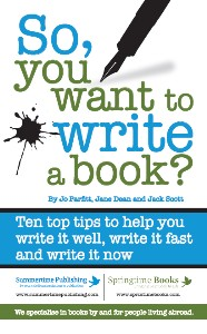 Book Cover: So You Want to Write a Book?