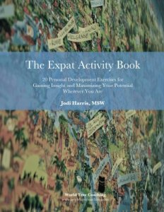 Book Cover: The Expat Activity Book