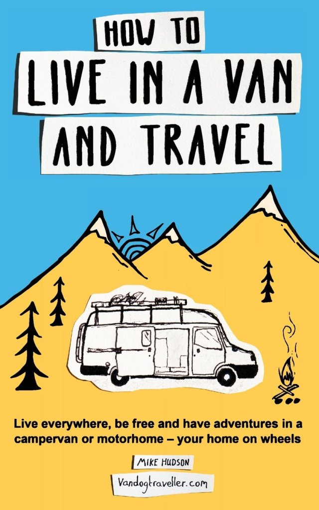 Book Cover: How to live in a van and travel