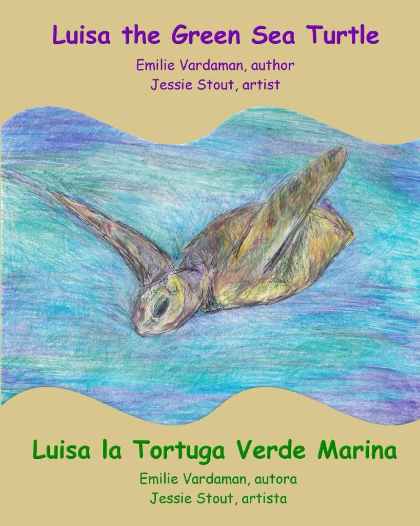 Book Cover: Luisa the Green Sea Turtle