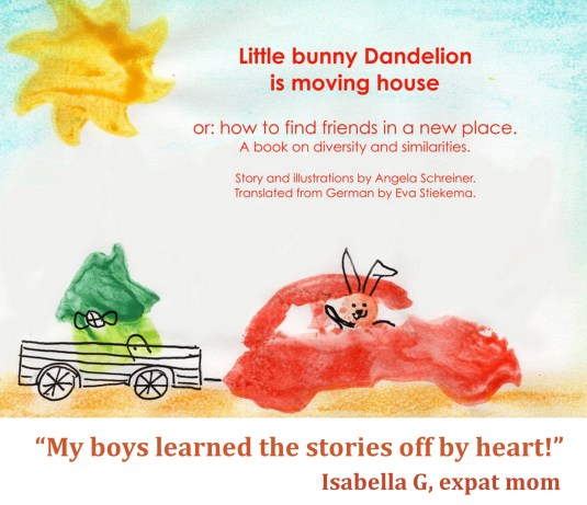 Little Bunny Dandelion is Moving House 1