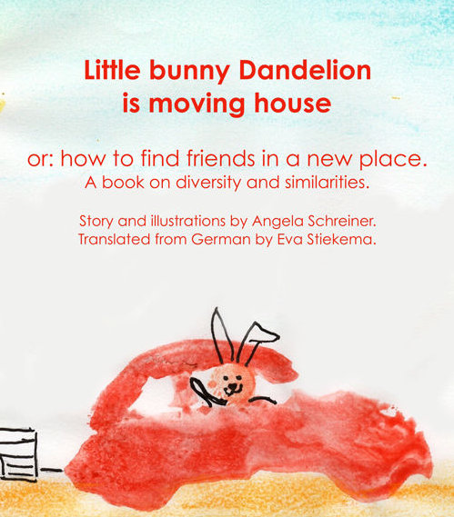 Book Cover: Little bunny Dandelion is moving house
