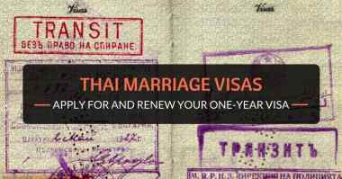 thai marriage visas