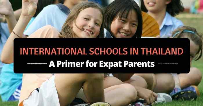 international schools in thailand featured