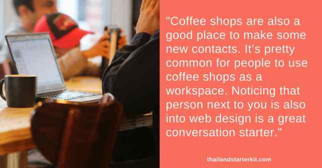 coffee shops in bangkok