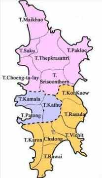 districts of phuket