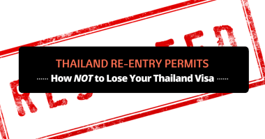 thailand re-entry permits
