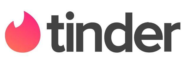 The Tinder dating app logo.