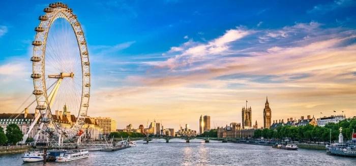 London Eye and Thames