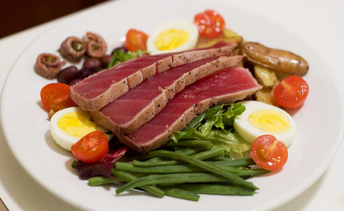 Top 10 French foods ' with recipes: Nicoise salad
