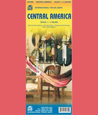 Cover of Central America Map