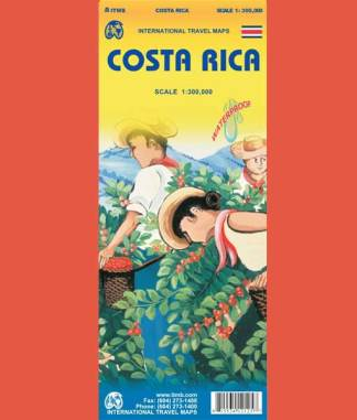 Cover of Costa Rica Map