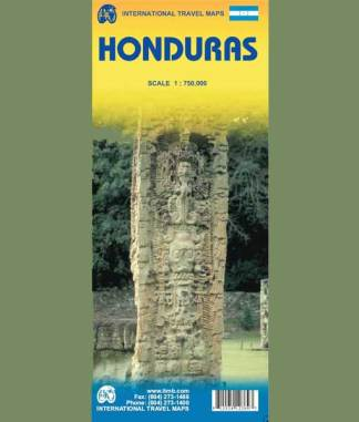 Honduras Map Cover