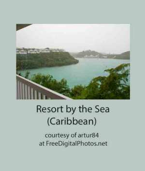 Resort by the Caribbean Sea