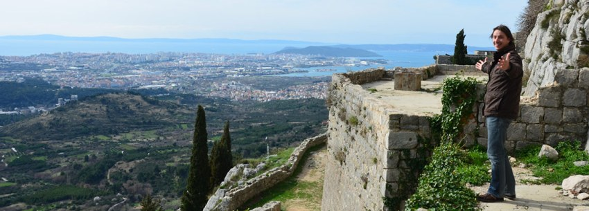 Sea view from Klis Fortress