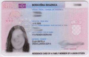 Croatia residence permit