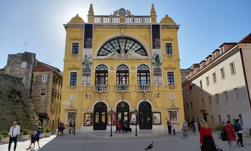 Split Croatia National Theater - Hrvatsko narodno kazalište
