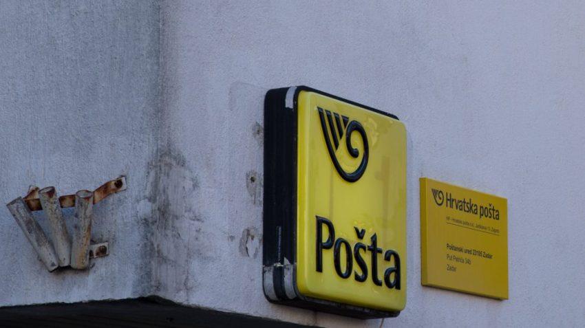 Croatian post office location