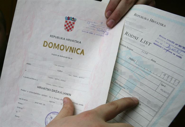 Domovnica - Proof of Croatian nationality