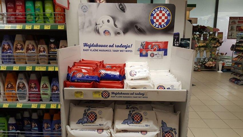 Hajduk baby wipes