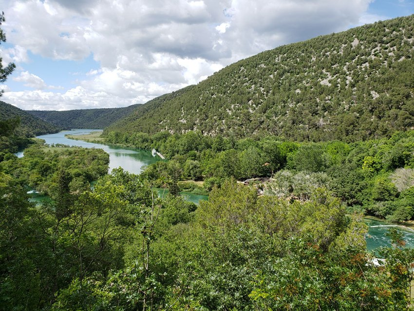 Entrance to Krka National Park