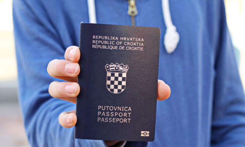 Croatia passport