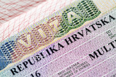 Difference between getting a visa and a residence permit in Croatia