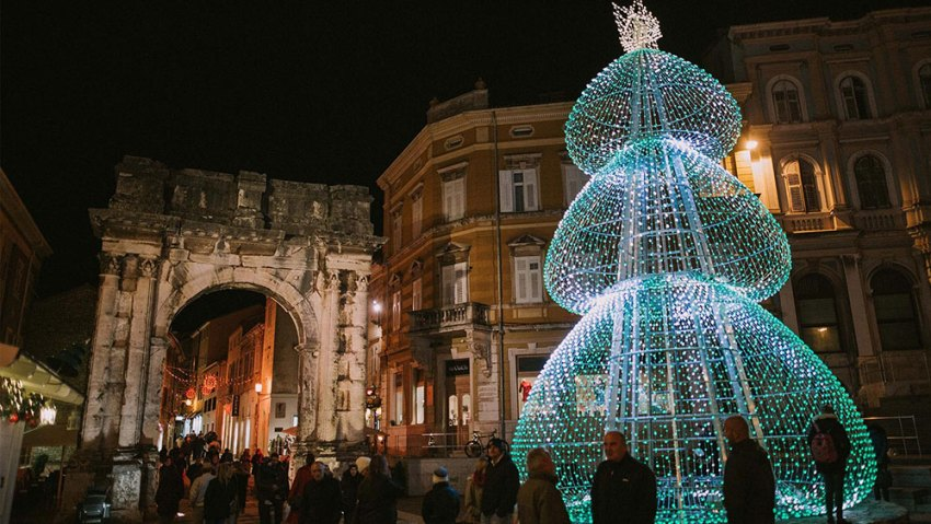 Advent in Pula
