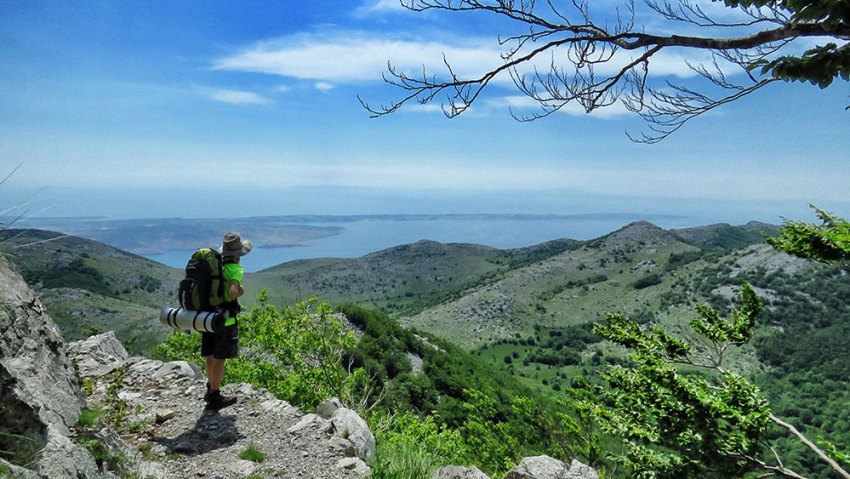 View from Northern Velebit National Park