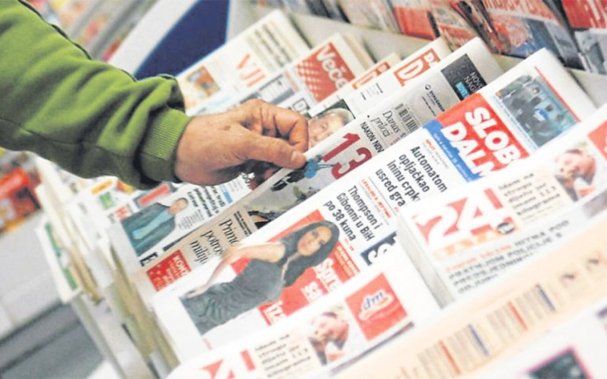 Croatian newspapers