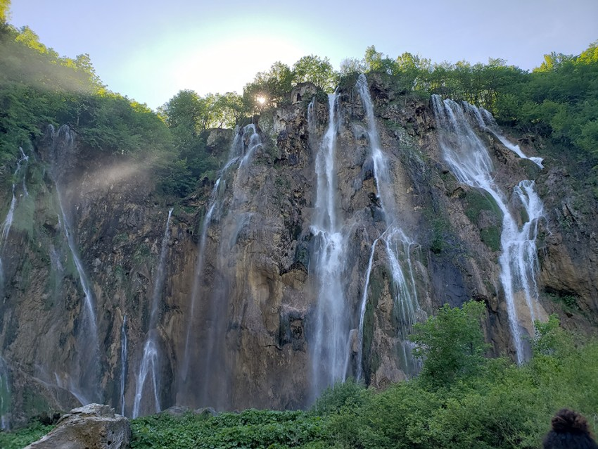 Veliki slap - Biggest waterfall at Plitvice Lakes National Park