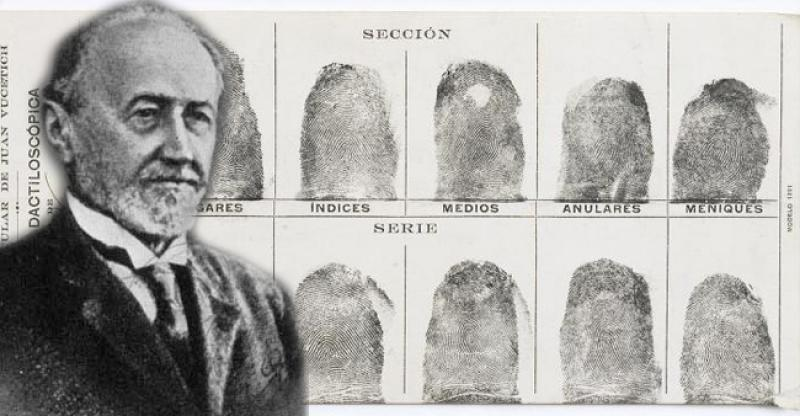 Ivan Vučetić, Croatian inventor of the fingerprinting method
