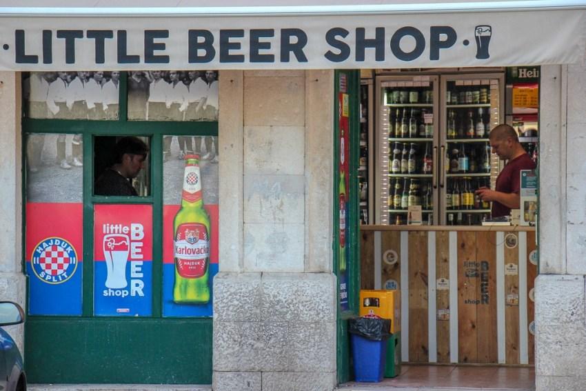 Little Beer Shop in Split, Croatia